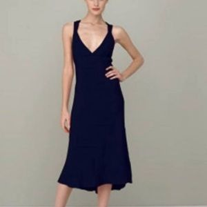 J.Crew Black Silk Avery Dress Size 0